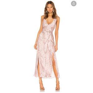Loveshackfancy Kendall brushes silk Dress